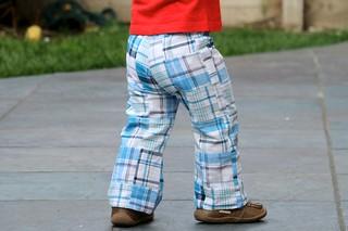 Toddler basic pants