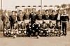 Die Billeder Handballmannschft in den 80er Jahren