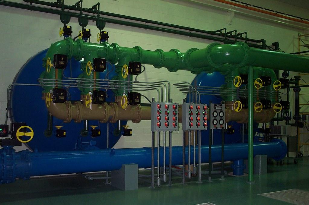 Iron & Manganese Water Treatment Plant