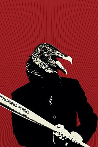 Them Crooked Vultures Iphone Wallpaper Joojoojuned Flickr