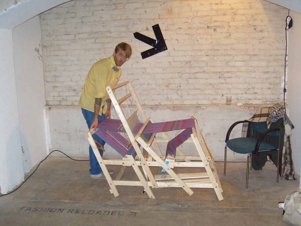 Folding Floor Loom! | travis meinolf | Flickr