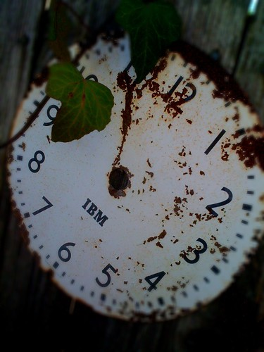 IBM Clock Face | by Howdy, I'm H. Michael Karshis