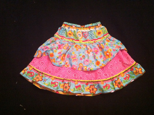 Double Layer Twirly Skirt