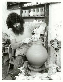 Well known Taranaki potter Nicholas Brandon, Taranaki