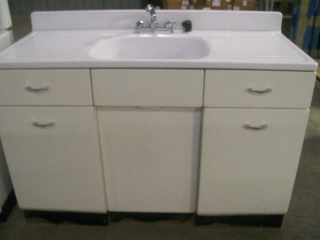 Freestanding Enamel Kitchen Sink Cabinet Unit Julie Warner Flickr
