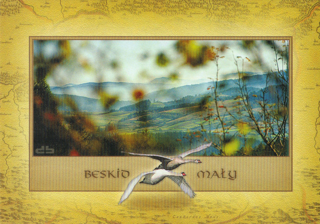 Beskid Maly Poland Postcard