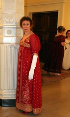 Sheila's new gown