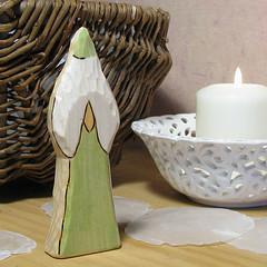 Snow-drop Fairy back   by Rjabinnik