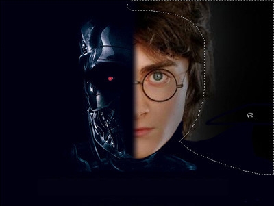 Harry Potter vs Terminator | tutorial from wish ge