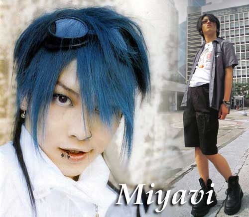 Miyavi 7 Blue Hair Kate Roberts Flickr