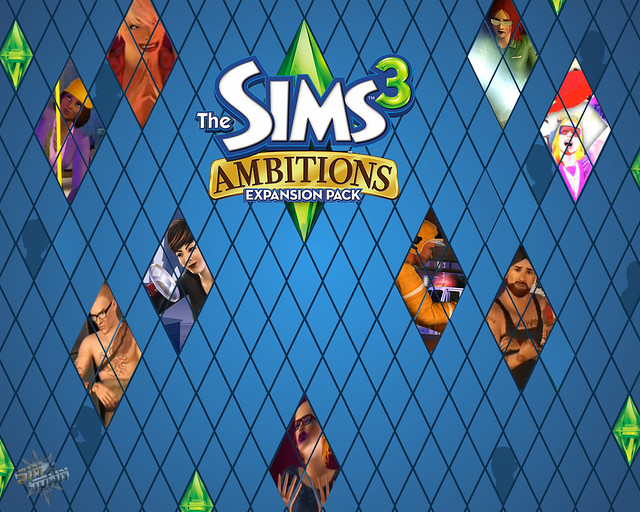 Wallpaper The Sims 3 Ambitions 4 Credits For At Thesimshub