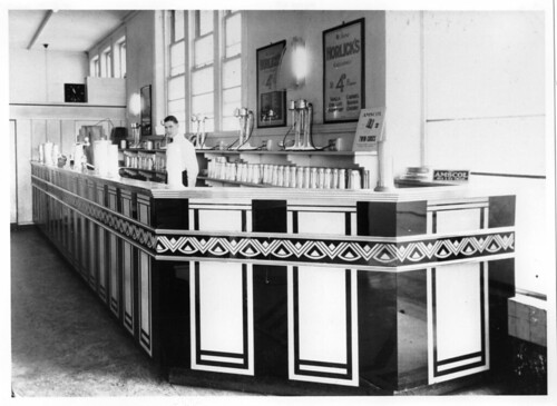 Devon Milk Bar, King William Street, Adelaide, c1950 | by State Library of South Australia