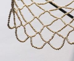 Ramilo, Lin Quisumbing, Dream Time(detail), basketball ring, freshwater pearls