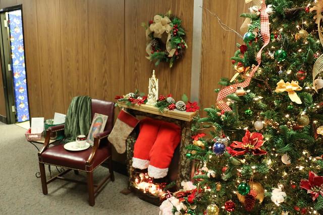Christmas Around the Beard Building