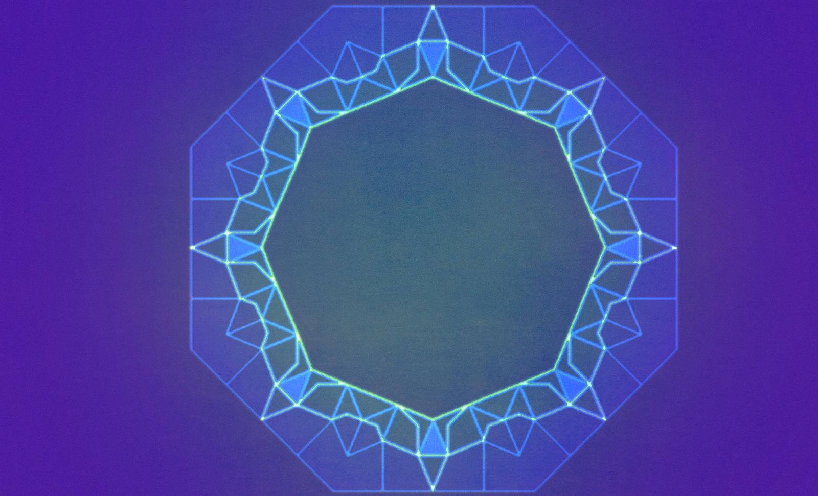 Constelaciones Radiales, visualizaciones cromáticas de circunvoluciones cósmicas