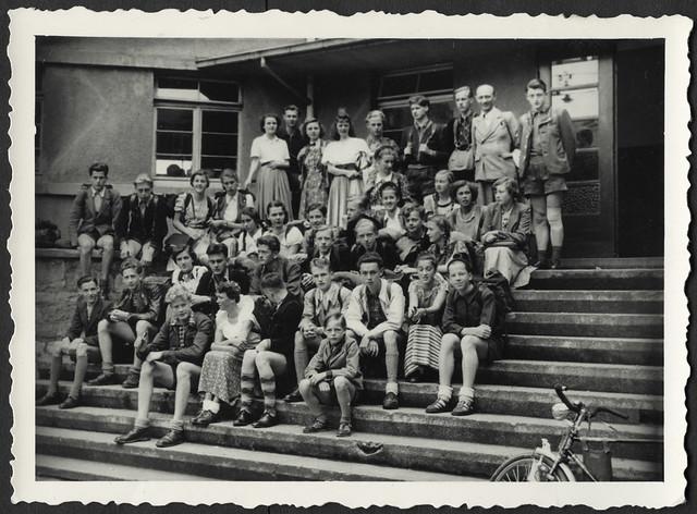 Archiv K538 Schulaufnahme, 1950er