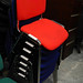 E35 stacking chairs