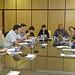Jue, 29/10/2009 - 11:27 - Representantes de empresas y centros tecnológicos de Tecnópole durante las vídeoconferencias de intercambio de oferta tecnológica con empresas del Polígono Industrial de Sabón en el marco del programa COPIT. 29 de octubre de 2009.