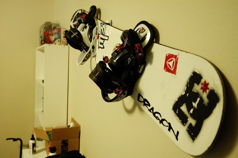 Snow Board Wall Mount