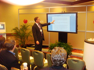 LexisNexis' Darrell Huntsman and Lexis for Microsoft Office Demo