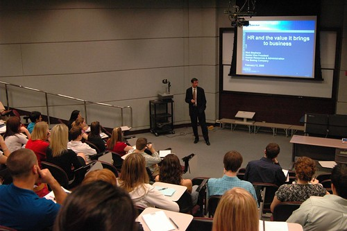 Rick Stephens visits Mays | by Mays Business School
