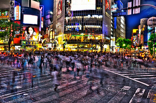 Ghost Motion in Shibuya | by Sprengben