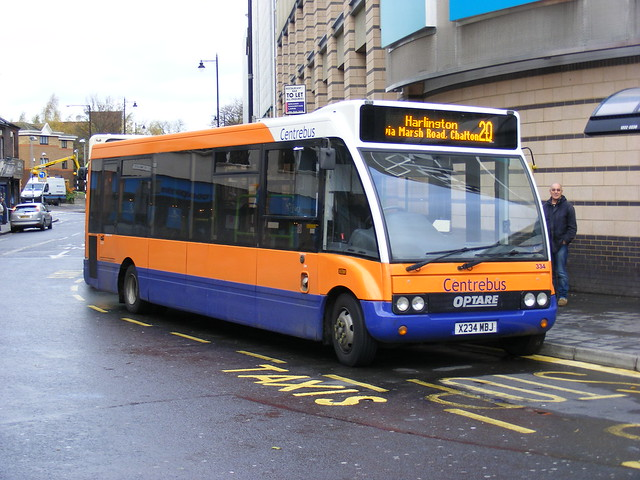 Centrebus Ltd . 334 X234MBJ . Luton . 16th-November-2009