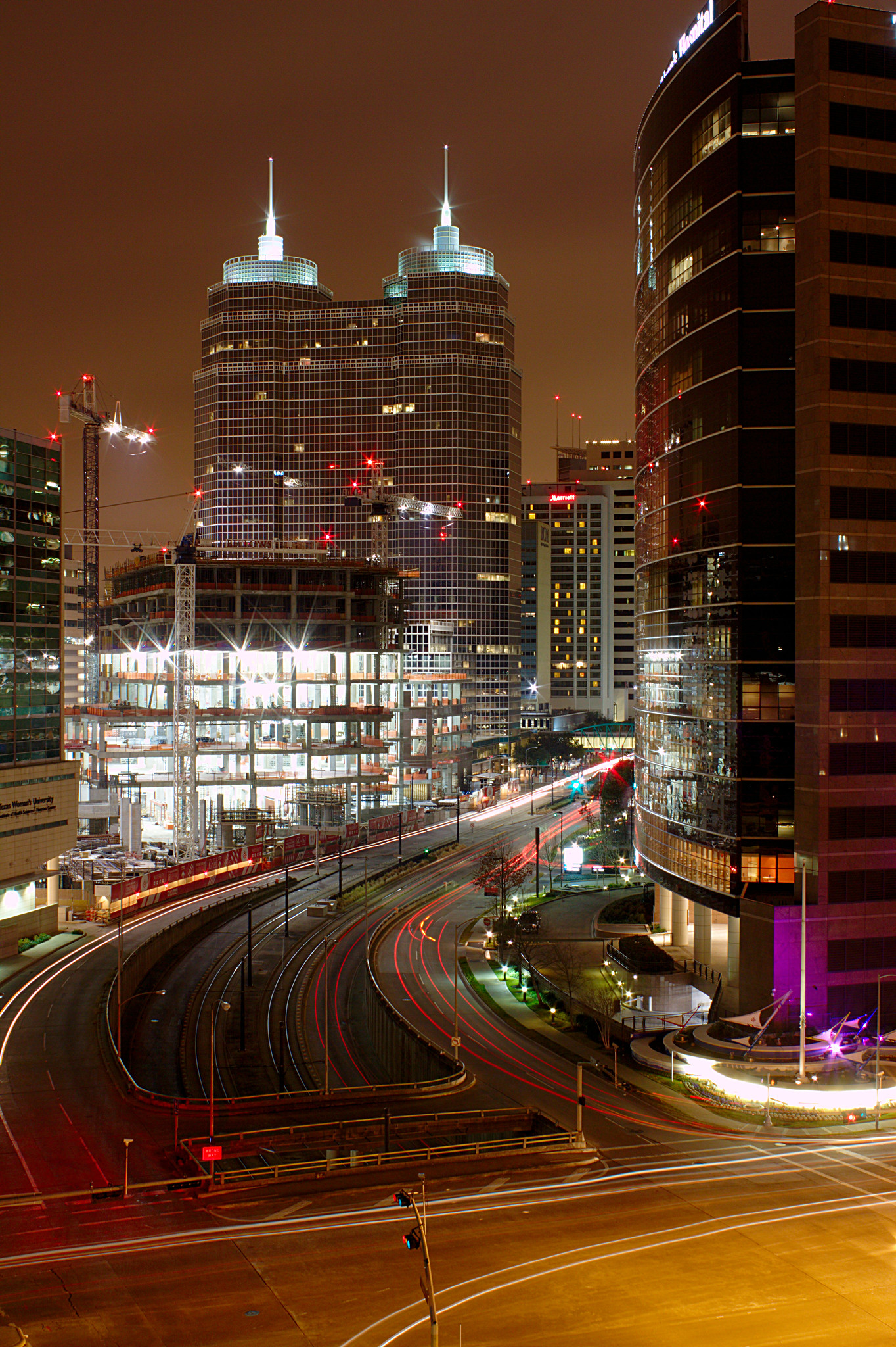 Texas Medical Center - Night on Flickr