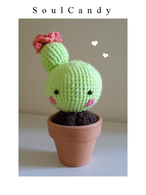 Free Crochet Cactus Pattern: A Quick Plushie to Love - Winding ... | 800x600