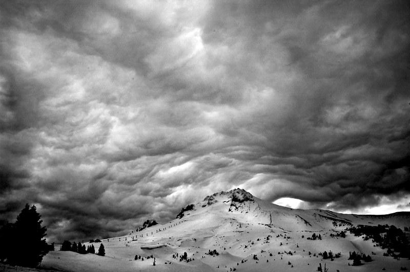Cloud Drama over Mt. Hood