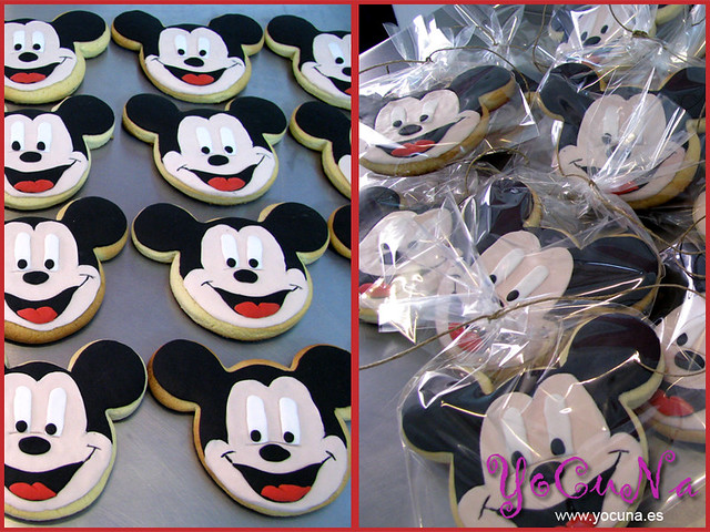 Galletas Decoradas Mickey Mouse Tartas Decoradas Para Toda