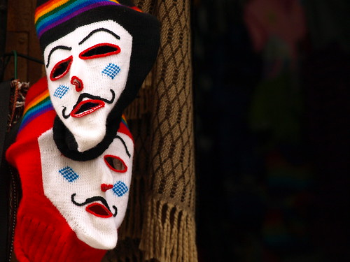 Peru Travel: Andean masks in Cusco   by Latin America For Less