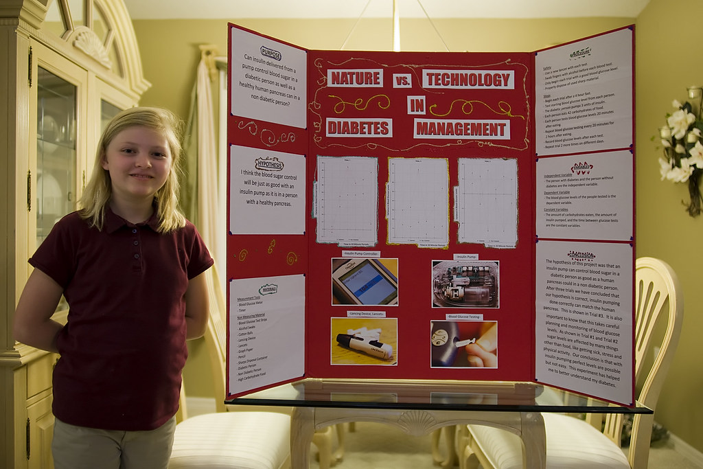 3rd Grade Science Project Nature Vs Technology In Diabete Flickr