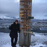 Viajefilos en Tromso, Monte Floya 005