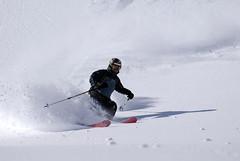Train SNOWfest 08 - skvělý lyžař a nadaný telemarker Aleš Holub z Rock Pointu.