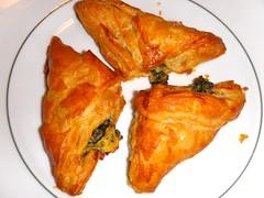 Spinach Feta Pie   by The Marmot