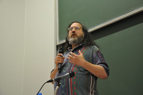 Richard Stallman @ Paris | by Guerric