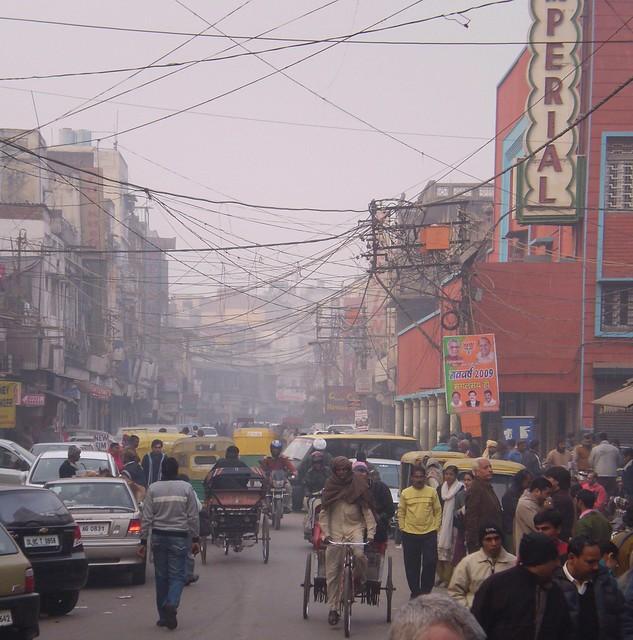 Foggy Delhi