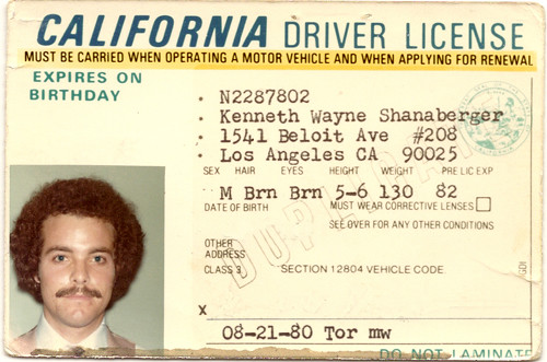 renew california drivers license change address