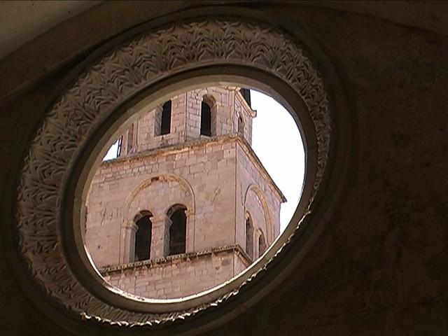Ragusa, Dubrovnik, Croazia, chiostro particolari