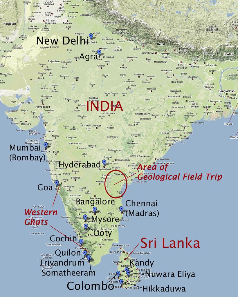Map of India and Sri Lanka showing localities that we visi ... Map India Sri Lanka on map hong kong, map india world, map india indus river, map india pakistan, map cambodia, map singapore, map india china, map india maldives, map india afghanistan, map india syria, map india himalayas, map india united states, map brazil, map malaysia, map australia, map india thailand, map india to japan, map india tibet, map india mauritius, map india bangladesh,