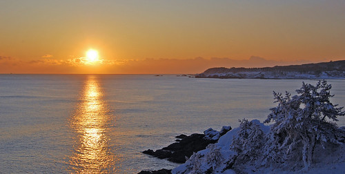 ocean winter sun japan sunrise coast pacific pacificocean aomori hachinohe tohoku aomoriprefectureaomorikenhachinoheshitohokuregion