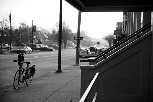 street sunrise blackwhite downtown lawrenceks sonyalphaa850