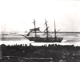 025668:Tynemouth:Shipping:The wreck of the Diamante 26th March 1898 | by Newcastle Libraries