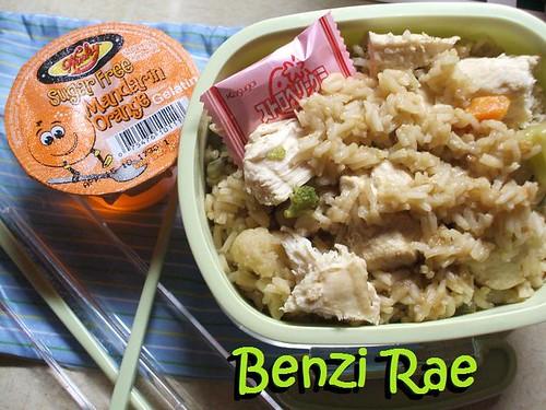 Steamed Chicken Bento