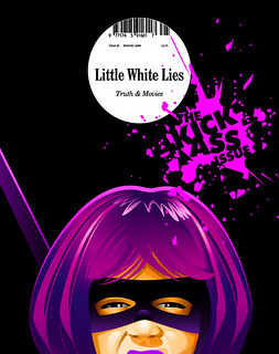Hit Girl, Little White Lies cover idea | by Ian Stewart Design