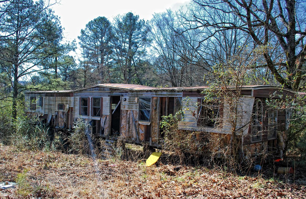 Abandoned Mobile Home, Gwinnett County, Georiga | Greg Foster | Flickr
