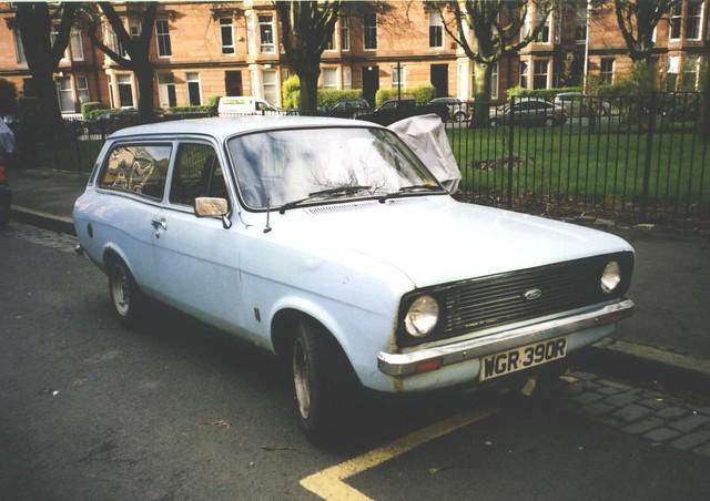 1977 Ford Escort Estate | Seen in Glasgow in 2003 | Flickr