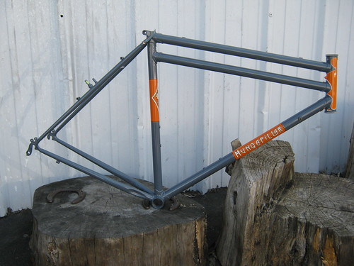 Hunqapillar Prototype Frame Side View | by cyclofiend