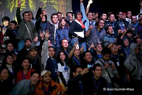 Twitters en Campus Party México 2009